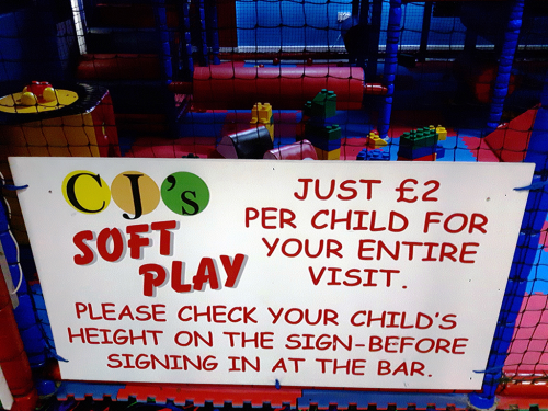 Soft Play Pricing